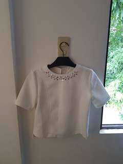 Just G White Top Small