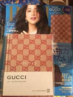 Baila Gucci scrapbook