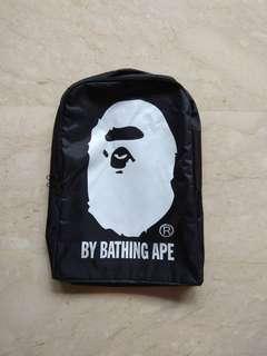 Bathing Ape Bape nylon haversack