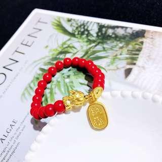 ( P.O. ) baby pixiu bracelet set