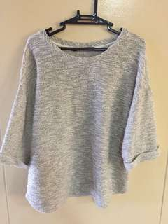 For Me Gray & Gold 3/4 Shirt