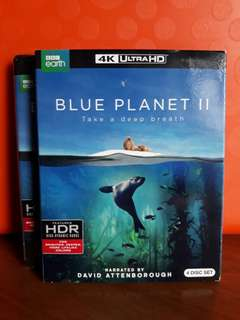 USA Blu Ray 4K UHD - Blue Planet II 4K