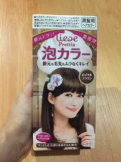 Liese Bubble Hair Colour Original KAO Japan..