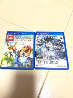 PS VITA LEGO CHIMA AND WORLD OF FINAL FANTASY