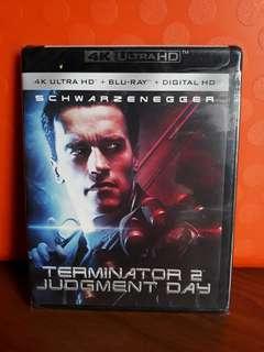 USA Blu Ray 4K UHD - Terminator 2 Judgement Day 4K