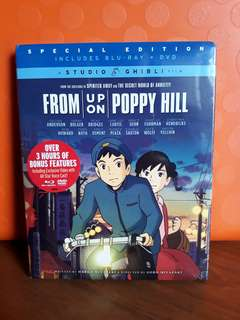 USA Blu Ray - From Up on Poppy Hill (Studio Ghibli)
