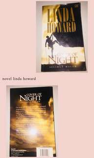 novel cover of night by linda howard
