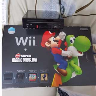 TODAY ONLY OFFER! Nintendo WII + Super Mario