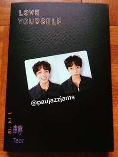 Jungkook BTS Tear R version Photocard