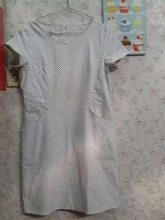 Preloved polka dress