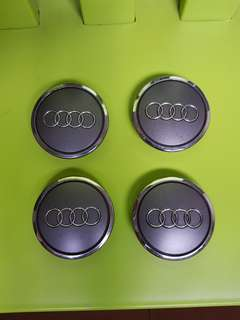 Audi Wheel Center Cap 68mm Grey