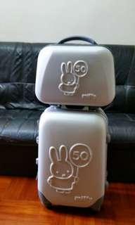 Miffy 50週年限量版行李喼(1套2件)