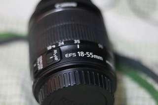 Canon efs 18-55mm stm lense