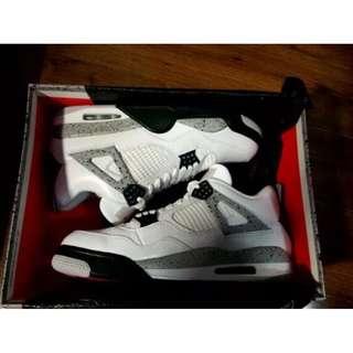 Air Jordan Retro  AJ4 白水泥