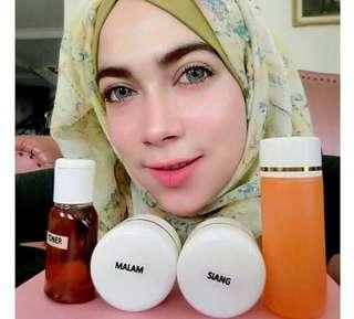 Cream pembersih wajah HN original