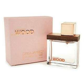 JUAl RUGI Dsquared She Woods!!!