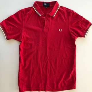 Men's Polo Shirt by Fred Perry size M