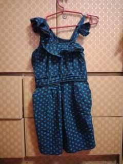 Girl's sexy dress
