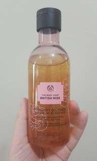 British rose petal - soft gel toner the body shop
