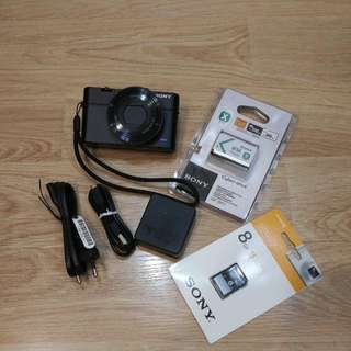 Sony DSC-RX100M3 Digital Camera