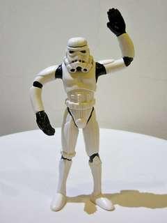 🚚 (二手無吊卡) 絕版 老玩具 星際大戰 白兵 帝國風暴兵 鐵絲玩具 可動 鐵絲人