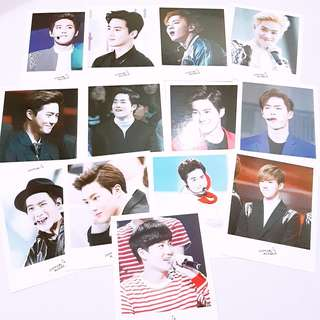 EXO Suho Partynoodle522 poloroid