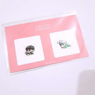 EXO Suho Partynoodle522 24k Radiation protection sticker
