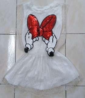 Minnie White Lace Dress