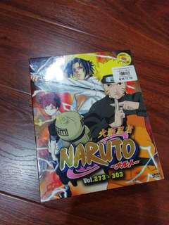 Naruto DVD vol273 - 303