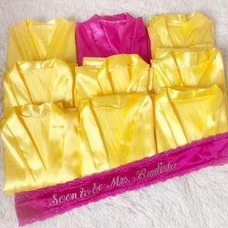personalized sash