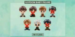 GOT GOTOON BABY FIGURE