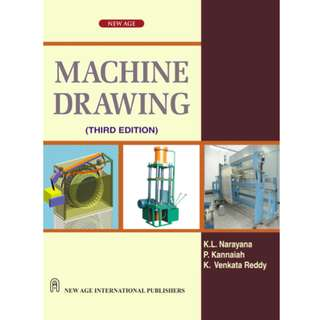Machine Drawing (474 Page eBook)