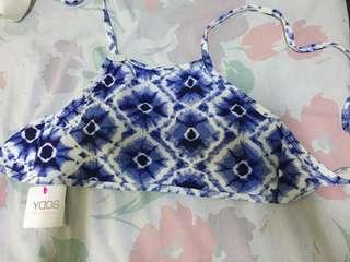 Cotton ON Halter Bikini Top