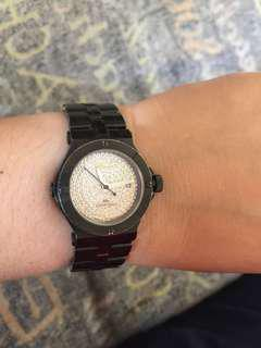 Renato Beauty Petite Collezioni watch w/ real diamond