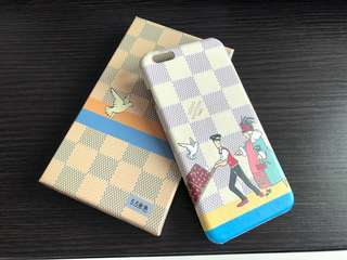 LV Style iPhone 6/6s Plus Case