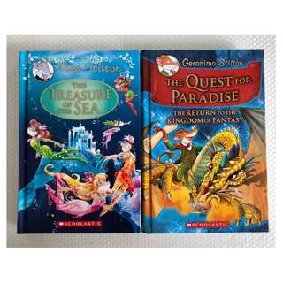 Thea Stilton - The Treasure of the Sea & Geronimo Stilton - The Quest for Paradise