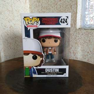Funko Pop Stranger Things Dustin B&N Exclusive