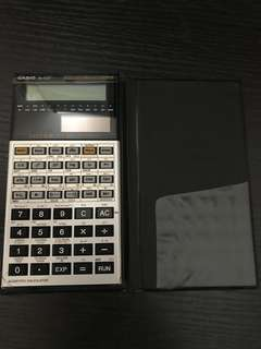 Casio scientific calculator計算機