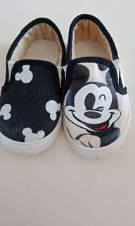 Flat shoes mickey