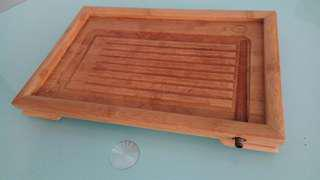 Tea Tray w/ Water Drainer