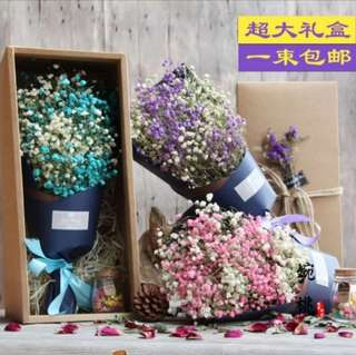 🚚 Instock dried Baby Breath Bouquet