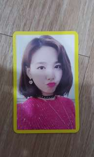 Twice Photocard (Nayeon)