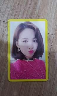 Twice Photocard (Nayeon)