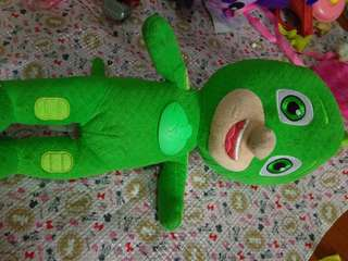PJ Mask gecko talking stuffed toy