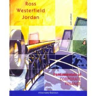 Fundamentals of Corporate Finance (922 Page Mega Full Colored eBook)