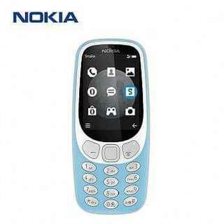 已拆封 復刻版Nokia 3310