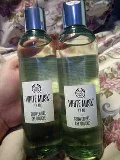 The body shop shower gel white musk