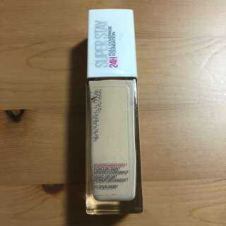 Maybelline superstay true ivory