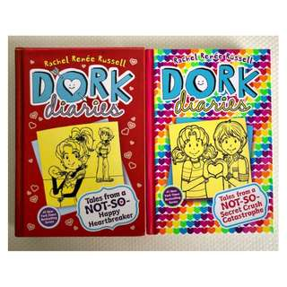 Dork Diaries Set of 2 - Hard Cover