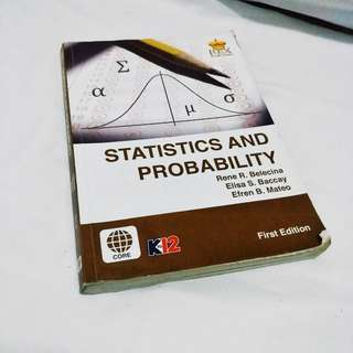Statistics and Probability shs book